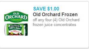 Old Orchard Frozen Juice Just $1.22 at Walmart!