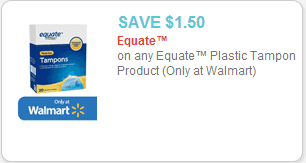 Equate Coupon