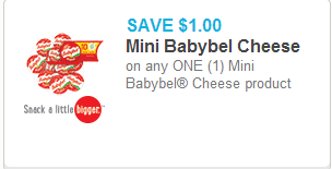 Mini Babybel Coupon