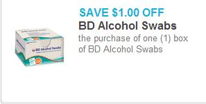 BD Alcohol Swabs Coupon