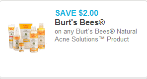 Burts Bees Coupon