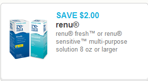 Renu Solution Just $5.98 at Walmart!