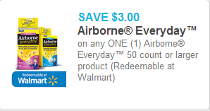 Airborne Everyday Coupon