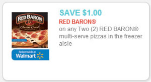 Red Baron Pizzas for $2.83 at Walmart!