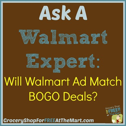 Ask A Walmart Expert Will Walmart PM BOGO Deals