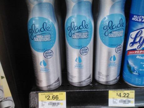 Glade Premium Room spray 1-17-12
