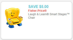 Laugh & Learn Smart Stages Chair coupon