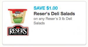 Reser's Deli Salad Coupon