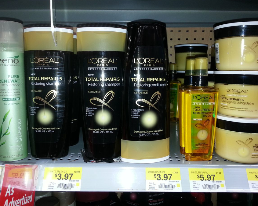 L'Oreal Advanced Haircare As Low As $1.97 at Walmart!