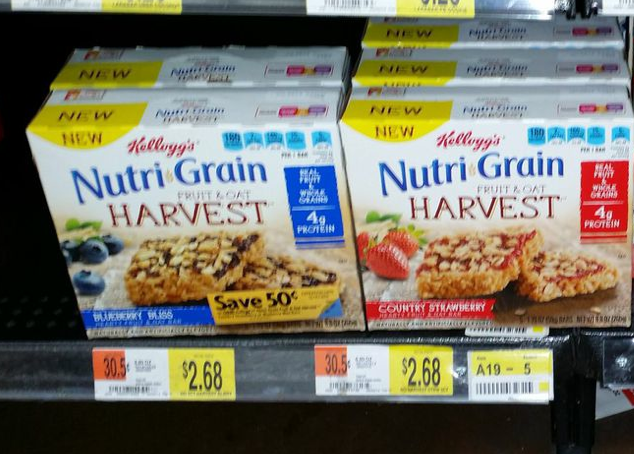 Nutri-Grain Fruit & Oat
