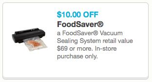 FoodSaver Vacuum Sealer System Coupon