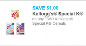 Special K Cereal for $3.07 at Walmart!