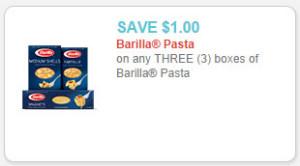 barilla pasta coupon