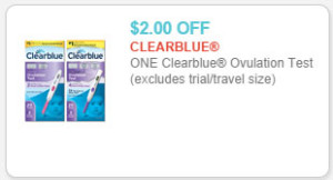 clearblue ovulation test coupon