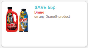 drano product coupon