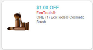 ecotools cosmetic brushes coupon