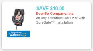 evenflo car seat coupon