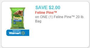 feline pine cat litter coupon