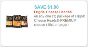 frigo cheese heads premium coupon