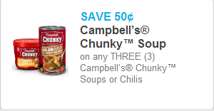 Campbell's Chunky Soup Coupon