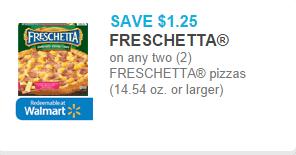 Freschetta Pizza Coupon