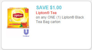 lipton tea bags coupon