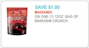 mariani crunch coupon