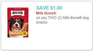 milk-bone dog snacks coupon