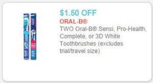 oral-b toothbrush coupon