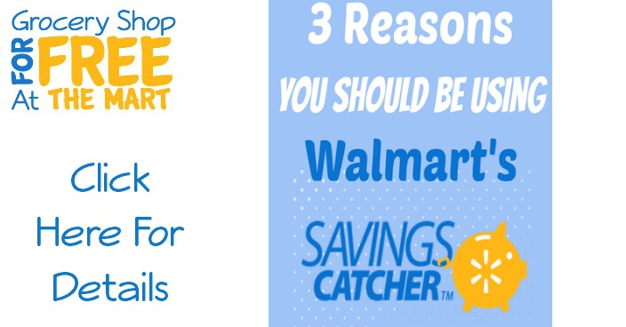 3 Reasons You Should Be Using Walmart Savings Catcher