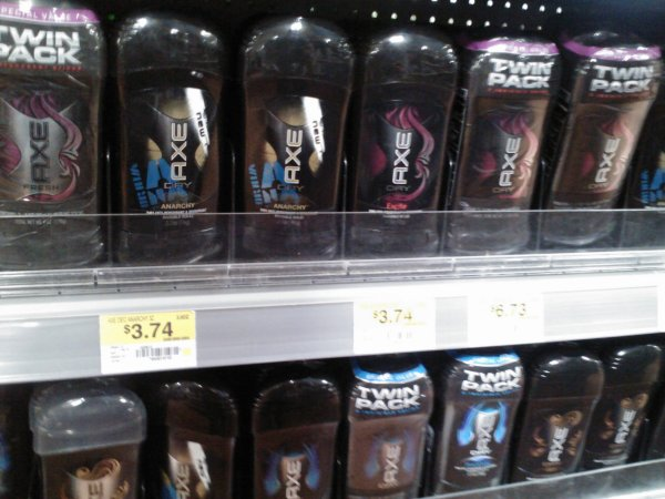 Axe Products as low as $2.74 at Walmart!