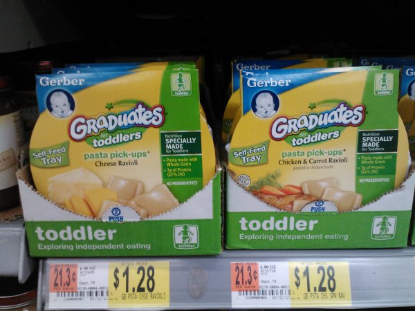 Gerber Graduates Products as low as $0.95 at Walmart!