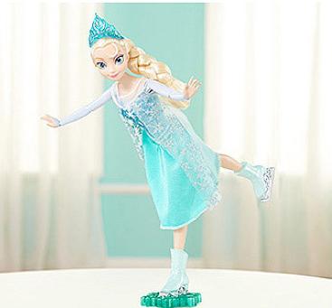 Disney Frozen Skating Elsa Doll