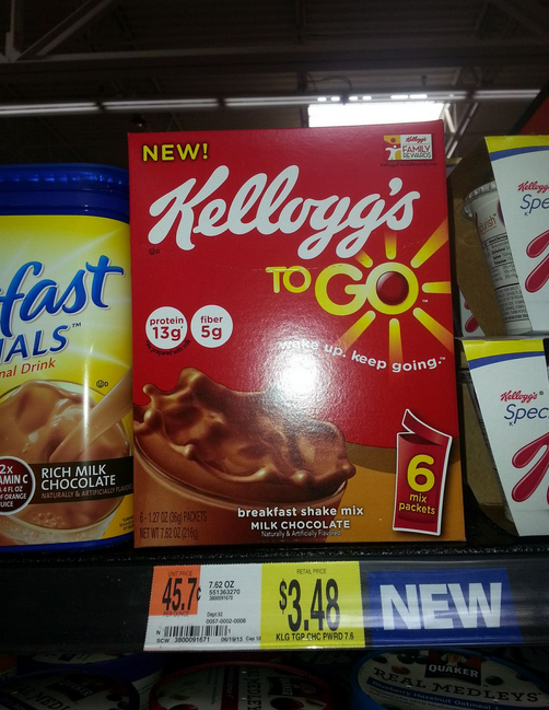 Kellogg's Breakfast to go