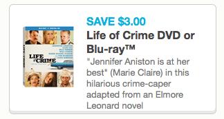 Life of Crime Coupon