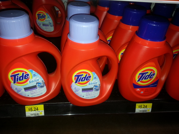 Tide Detergent as low as $4.24 at Walmart!