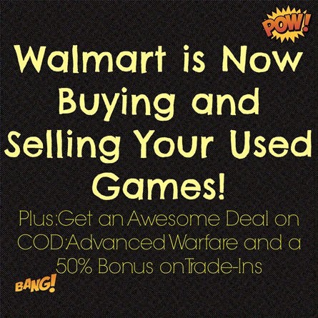 Used Games at Walmart