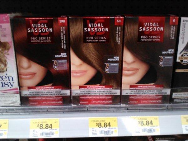 Vidal Sassoon Hair Color for $6.84 at Walmart!