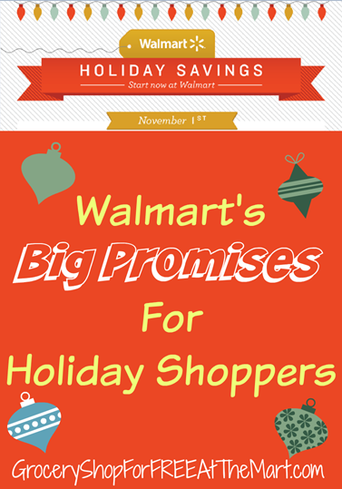 Walmart's Big Promises For Holiday Shoppers