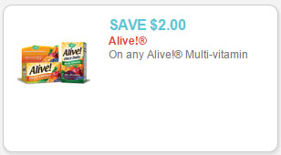 alive! multivitamin coupon
