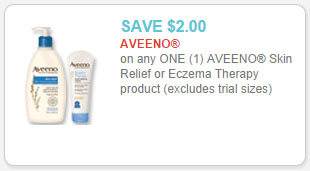 aveeno skin relief coupon