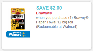 brawny paper towels 12 big rolls coupon
