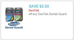 dentek dental guards coupon