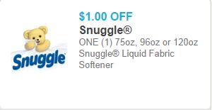Snuggle Coupon