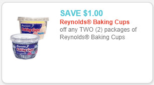 reynolds baking cups coupon