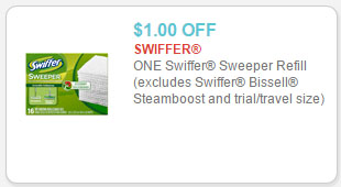 swiffer sweeper refill coupon