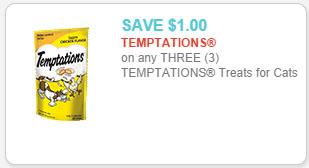 temptation cat treats coupon