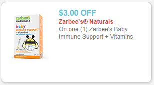 zarbee's coupon