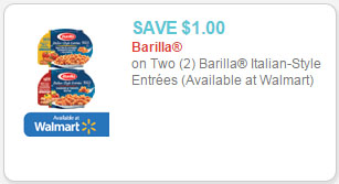 Barilla Italian-Style Entrees coupon