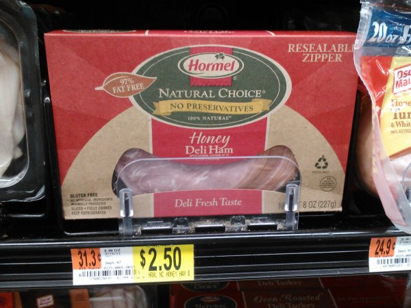Hormel Natural Choice 3-27-12